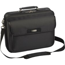 "Targus ZIP-THRU 16"" Traditional Clamshell Laptop Case with Zip-Thru Checkpoint"