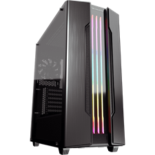 Cougar Gemini S RGB Mid-Tower PC Case Iron-Gray