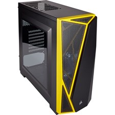 Corsair Carbide Series® SPEC-04 Mid-Tower Gaming Case — Black/Yellow (CC-9011108-WW)