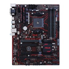 Asus PRIME B350-PLUS AMD AM4 ATX Motherboard with LED Lighting