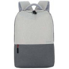 Socko Light Laptop Backpack Messenger Handbag - Grey - SH-685