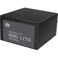 Cooler Master - MasterWatt Lite 230V 600W - Green Power Supply with ErP 2013 Certified