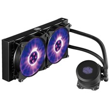 Cooler Master MasterLiquid ML240L RGB Liquid CPU Cooler (MLW-D24M-A20PC-R1)