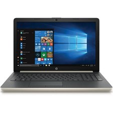 HP 15-DA0001ne - 8th Gen Ci3, 4GB, 1TB, Win 10, Gold Color