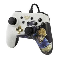 Nintendo Switch Wired Controller – Link (Character Series) - Zelda Breath of the Wild