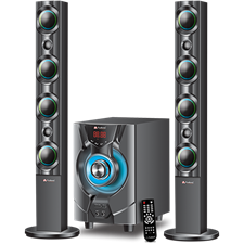 Audionic Reborn RB-110 Sub-woofer and Standing Bar-Speakers