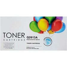 Toner Cartridge For Hp 13A (Replacement for Q2613A), Black, Replica
