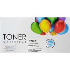 Toner Cartridge For Hp P2035, P2055D, P2055DN (Replacement for CE505A), Black, Replica