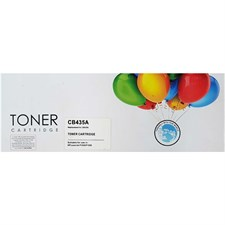 Toner Cartridge For Hp P1005/P1006 (Replacement for CB435A), Black, Replica