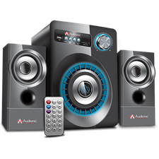 Audionic Max 230 Bluetooth Speakers, 2.1 Channel