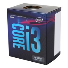 Intel Core i3-8100 Processor, Coffee Lake, LGA 1151 (300 Series), 8th Gen