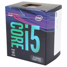 Intel Core i5-8400 Processor, Coffee Lake, LGA 1151 (300 Series), 8th Gen