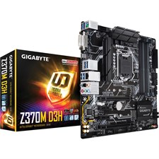 Gigabyte Z370M D3H Intel LGA 1151 (300 Series) Motherboard, For 8th Gen Intel Core Processors