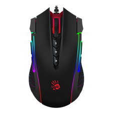 Bloody J90 2-Fire RGB Animation Gaming Mouse