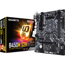 Gigabyte B450M S2H AMD B450 Ultra Durable Motherboard AM4