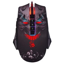 Bloody P85 Light Strike 5K RGB Optical Gaming Mouse - Skull