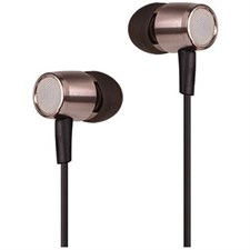 A4Tech MK-730 HD Metallic In-Ear Earphone (Golden)