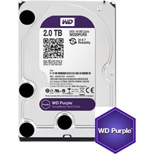 "Western Digital  WD Purple WD20PURZ 2TB SATA 6.0Gb/s 3.5"" Surveillance Hard Drive"