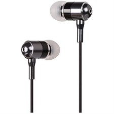A4Tech MK-650 SecureFit Metallic Earphone (Black)