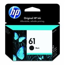 HP 61 Black Inkjet Print Cartridge