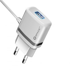 Space WC-105 Wall Charger - Micro USB Cable