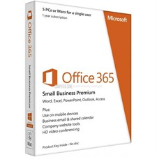 Microsoft Office 365 Small Business Premium (Without Media)