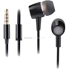 A4Tech MK-730 HD Metallic In-Ear Earphone (Black)