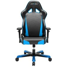 DxRacer OH/TS29/NB Sentinel and Tank Series Gaming Chair, Black and Blue