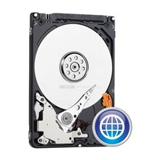 WD Blue 500GB Mobile 7.00mm Hard Disk Drive - 5400 RPM SATA 6 Gb/s Cache 2.5 Inch - WD5000LPCX