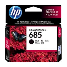 HP 685 Black Original Ink Advantage Cartridge (CZ121AA)