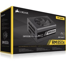 Corsair RMx Series™ RM850x — 850 Watt 80 PLUS® Gold Certified Fully Modular PSU - CP-9020093-UK