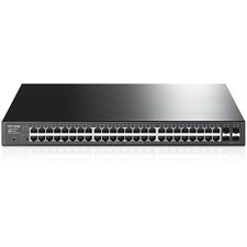 Tp-Link T1600G-52PS (TL-SG2452P) JetStream 48-Port Gigabit Smart PoE+ Switch with 4 SFP Slots
