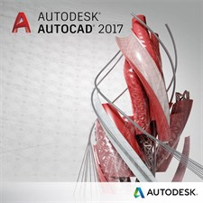 Autodesk AutoCAD 2017 For Windows - 1 Year