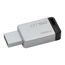 Kingston 128GB DataTraveler 50 USB 3.0 Flash Drive, Speed Up to 110MB/s (DT50/128GBFR)