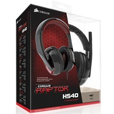 Corsair Raptor HS40 7.1 USB Gaming Headset - CA-9011122-AP