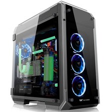 Thermaltake View 71 Tempered Glass Edition Full Tower Chassis, CA-1I7-00F1WN-00