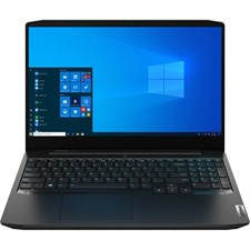 "Lenovo IdeaPad Gaming 3 15 Laptop AMD Ryzen 5 4600H, 16GB, 128GB SSD + 1TB HDD, NVIDIA GeForce GTX 1650 4GB, 15.6"" FHD IPS 120Hz, Backlit KB, Onyx Black (Official Warranty)"