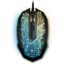 Alcatroz X-Craft PRO Tron 5000 Gaming Mouse