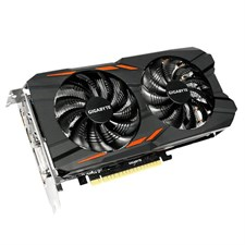 Gigabyte GV-N105TWF2OC-4GD GeForce® GTX 1050 Ti Windforce OC 4GB Video Graphics Card