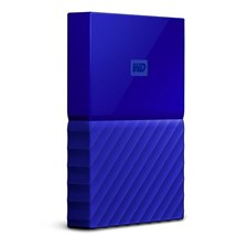 WD - My Passport 1TB External USB 3.0 Portable Hard Drive - Blue (WDBYNN0010BBL)