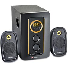 Audionic AD-3500 Dual Powered 2.1 Speakers