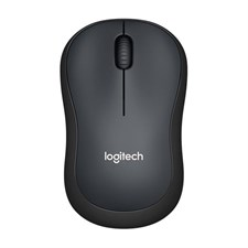 Logitech M221 Silent Wireless Mouse - Charcoal- 910-004882