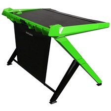 DXRacer Gaming Computer Desk GD-1000-NE-1 (Black | Green) Desktop Office Table (Free Next-Day Delivery for Karachi Only)
