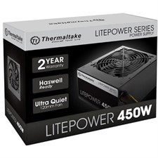 Thermaltake Litepower Series GEN2 450W Power Supply (LTP-0450P-2)