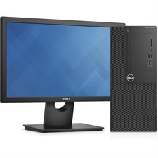 Dell OptiPlex 3050 Minitower (MT) Desktop With Dell E1916H LED Display (Bundle Offer)