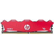 HP V6 8GB DDR4 2666 Mhz SDRAM Desktop Memory Red
