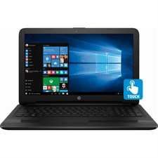 "HP 15 BS115DX Laptop - 8th Gen Ci5 8250u 8GB 1TB 15.6"" HD Touchscreen Win 10 (Jet Black)"