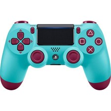 Sony DualShock PlayStation 4 Wireless Controller Berry Blue