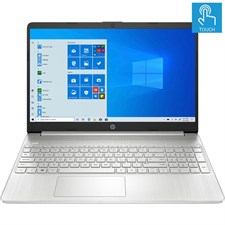 "HP 15-DY1043DX Notebook 10th Gen Ci5 1035G1 12GB 256GB SSD Win10 15.6"" Touchscreen"