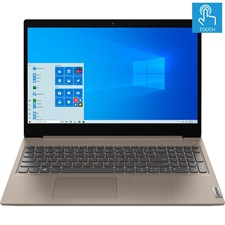 "Lenovo IdeaPad 3 15IIL05 Laptop - 10th Gen Ci3, 8GB, 256GB SSD, 15.6"" HD Touchscreen, Almond Color, Windows 10, 81WE00KVUS"